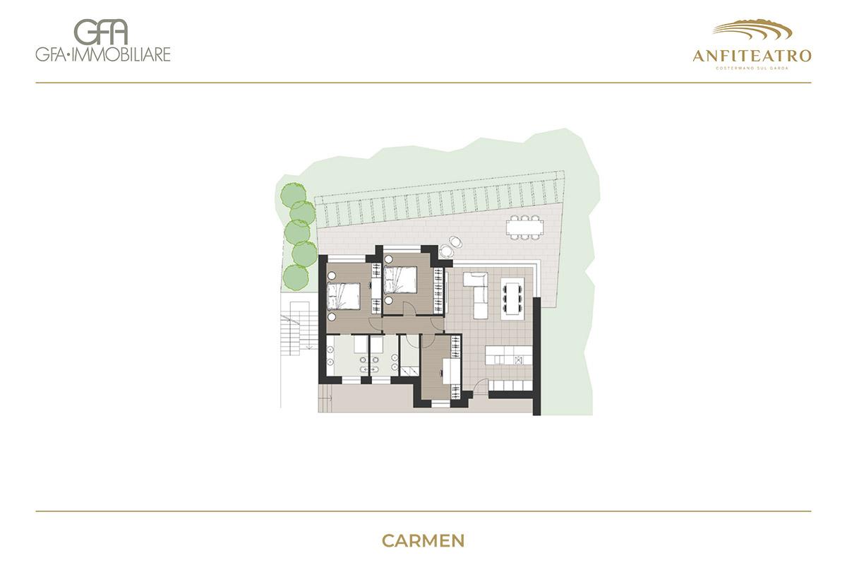Anfiteatro, Carmen | GFA Immobiliare