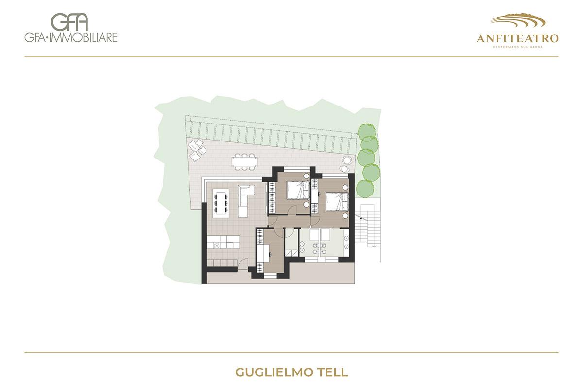 Anfiteatro, Guglielmo Tell | GFA Immobiliare