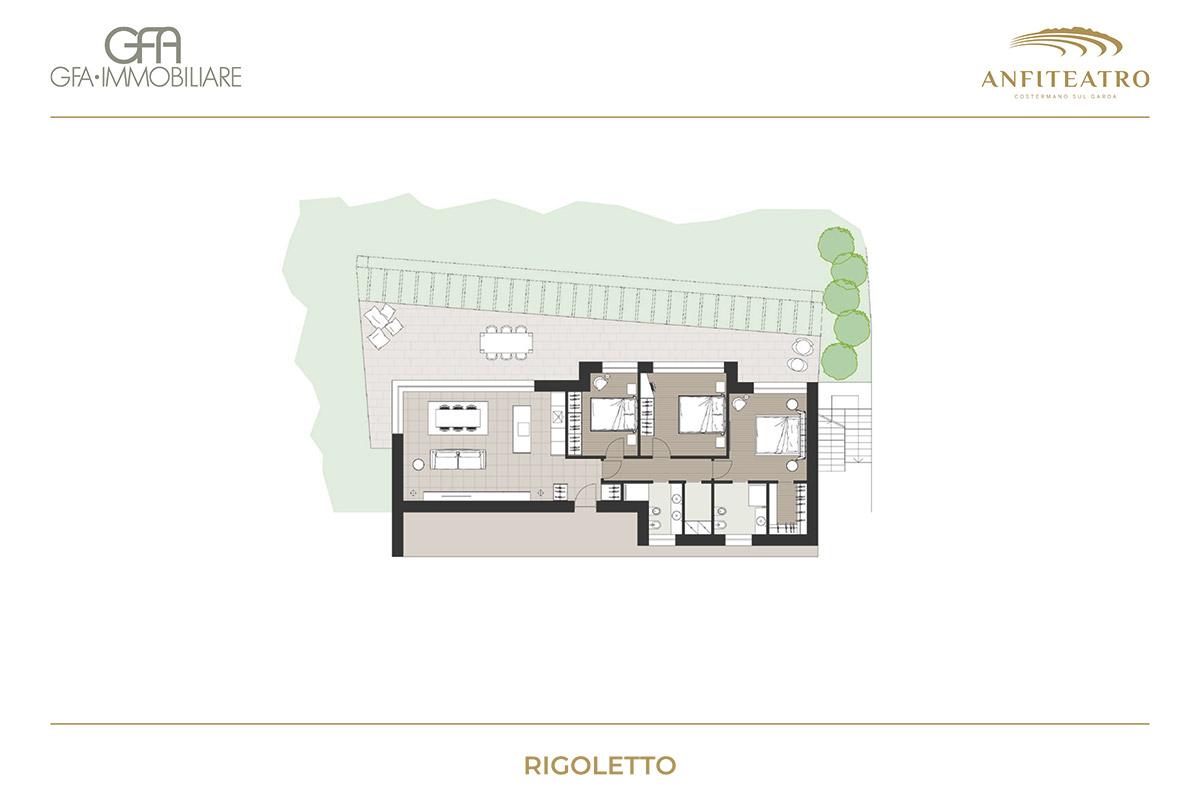 Anfiteatro, Rigoletto | GFA Immobiliare