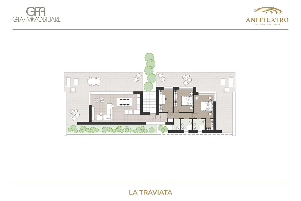 Anfiteatro, La Traviata | GFA Immobiliare